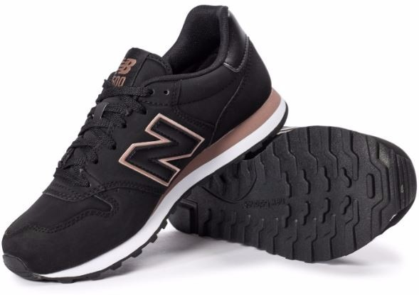 zapatillas new balance gw 500 negro dorado mujer